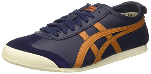 Asics Unisex Adults' Mexico 66 Sneakers Blue (Peacoat/Honey Ginger) lCyIyK
