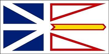 Sticker Newfoundland Labrador Flag Decal