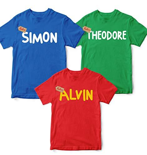 Alvin And The Chipmunk Halloween Costume (Alvin- Simon -Theodore Family Halloween Costumes Chipmunks-Christmas Matching Group Friends Unisex T-shirt - Premium T-shirt - Hoodie - Sweater - Long Sleeve - Tank)