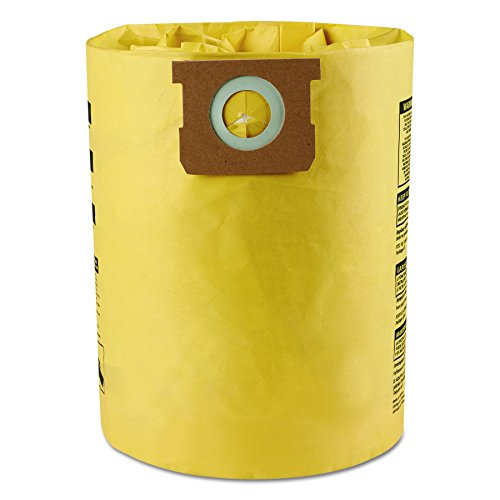 Shop-Vac 9067200 High Efficiency Collection Filter Bags, 10 14gal (Pack of (Shop Vac Dust Collection)