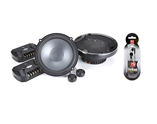 "JBL GTO609C 6-1/2"" 540 watts Peak 2-Way 3 ohms impedance GTO Series Component Car Audio Speaker System w/ FREE NUTEK EARBUDS"