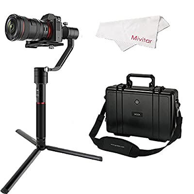 GUDSEN MOZA Air 3-Axis Handheld Gimbal Camera Stabilizer With Control System For All Mirrorless Cameras And Most DSLRs,Like Sony a7SII Panasonic GH5 Canon EOS 5D Mark IV