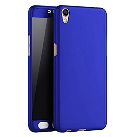 online retailer 4f567 5bc1b Atqits Oppo A37 ipaky Blue cover with glass: Amazon.in: Electronics
