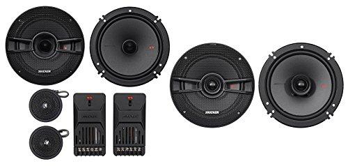 "Kicker 44KSS6504 6.5"" 250w Car Audio Component Speakers+2) 6.5"" Coaxial Speakers"