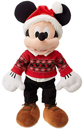 (Mickey Mouse Christmas Plush Figure - Holiday Cheer Collection 2018)