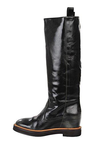 Brunello Cucinelli Schuhe Damen Grün Braun Leder Stiefel/Boots 37