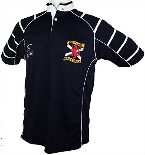 Siilky Sullivan Collection Short Sleeve Tartan Terror Rugby Jersey (4XL)