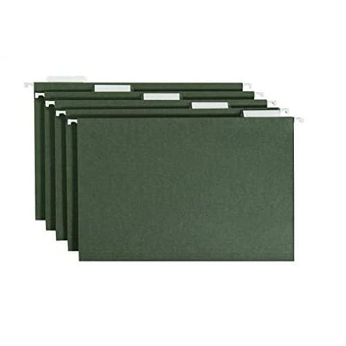 Smead Hanging File Folders, Green, 50 Count, Legal