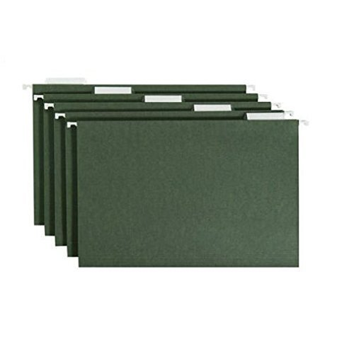 Smead Hanging File Folders, Green, 50 Count, Legal ()