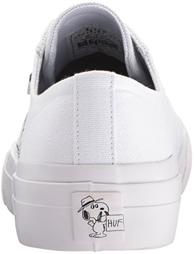 Huf Skate Shoes - Huf Classic Lo Peanuts - Whi...