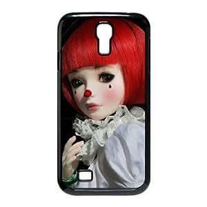 JFLIFE Clown Phone Case for samsung galaxy s4 Black Shell Phone [Pattern-1]