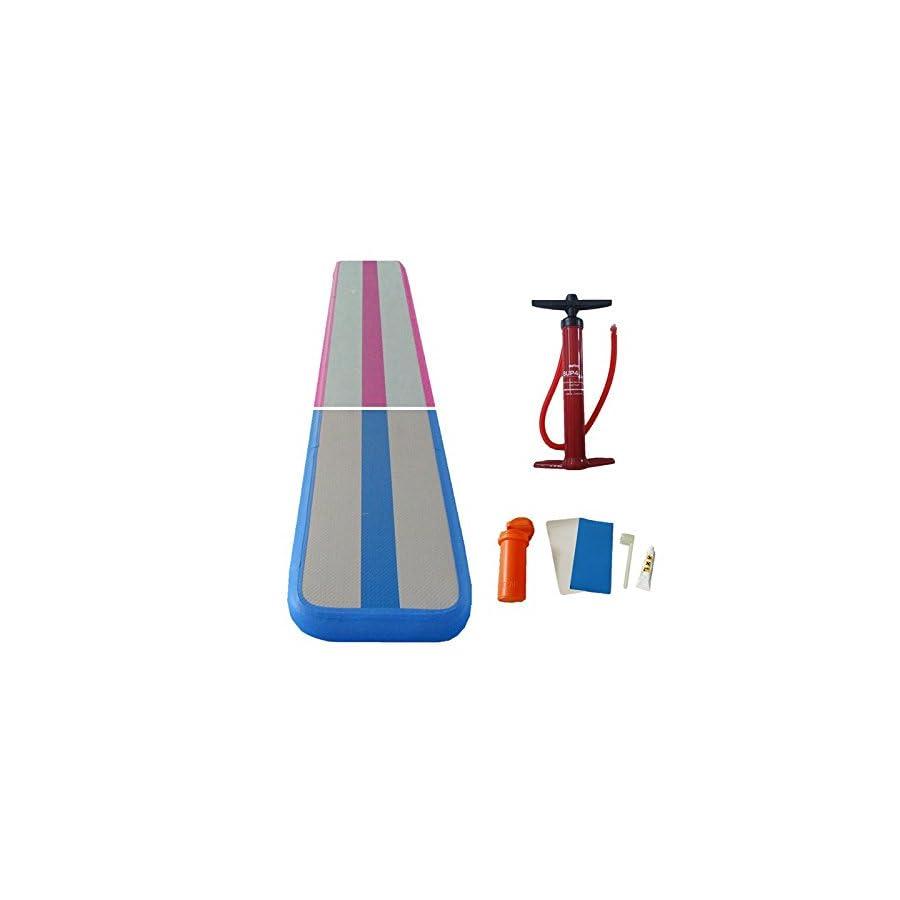 Sinolodo Gymnastics Air Balance Beam Inflatable Practice Training Mat