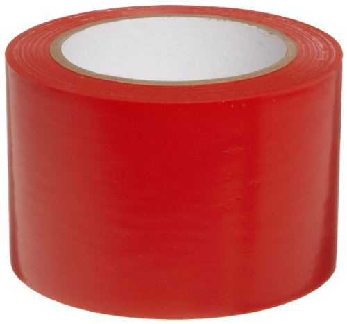 Aisle Red Tape Marking (Brady 108' Length, 3