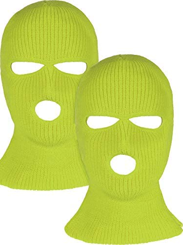 Pieces 3 Hole Knitted Balaclava Outdoor