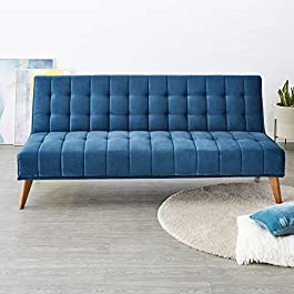 Solimo Holmes 3 Seater Sofa cum Bed
