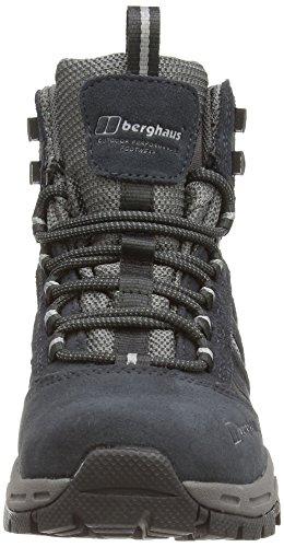 Berghaus EXPEDITOR AQ TREK TECH BOOT AF DKBLU/GRY - botas de senderismo de cuero mujer gris - Grau (DUSK/FROST GREY)