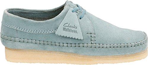 Clarks Mens Weaver Boot Blu / Grigio