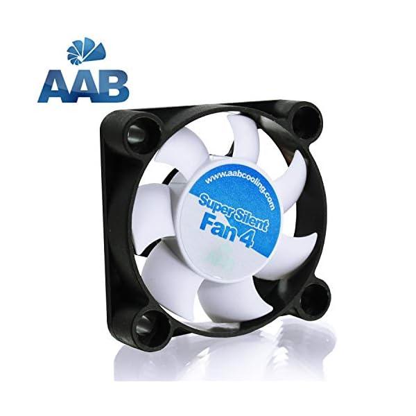 41jRUwjVdML AABCOOLING Super Silent Fan 4 - Leise und Efizient 40mm Gehäuselüfter mit 4 Anti-Vibration-Pads - Mini Ventilator…