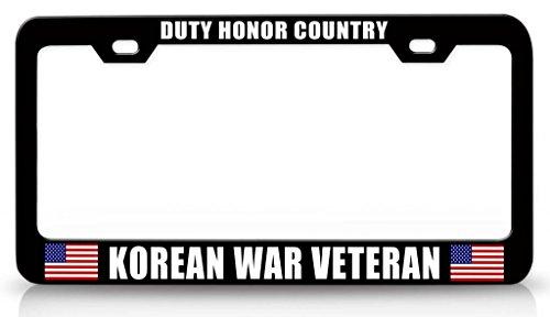 HONOR COUNTRY KOREAN VETERAN License product image
