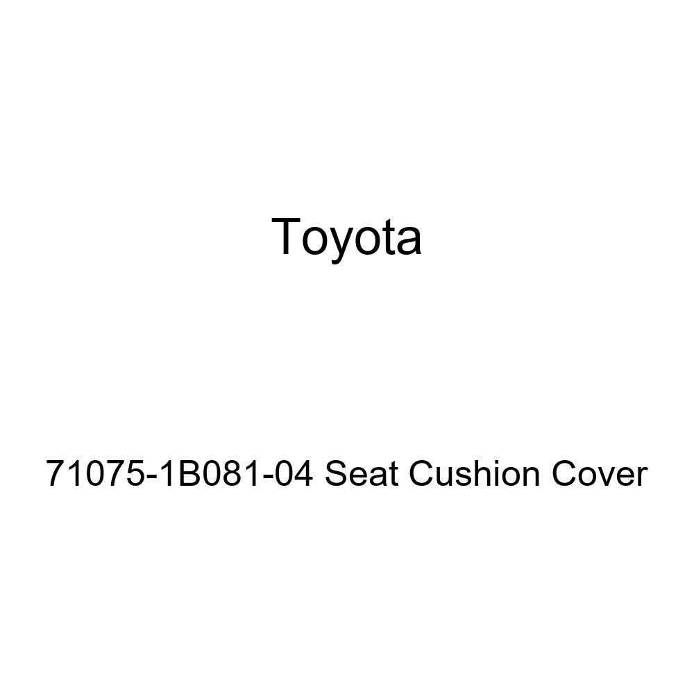 TOYOTA Genuine 71075-1B081-04 Seat Cushion Cover