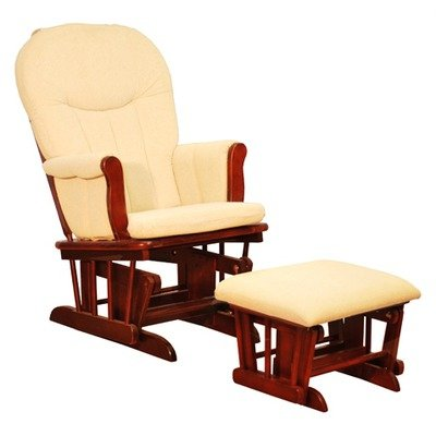 Glider Chair, Color Cherry