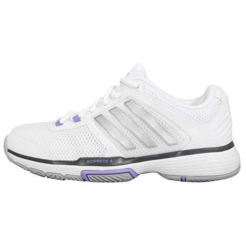 Adidas Barricade Team 4 Women's Tennis Shoes - SS15 - 8 - White