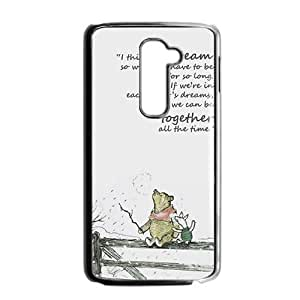 WAGT I Think We Dream Brand New And Custom Hard Case Cover Protector For LG G2