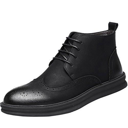 HL-PYL All-Match - Die neuen Schuhe hohe Schuhe Stiefel All-Match HL-PYL erhöhte Retro Single Stiefel. 40 Schwarz 53fca7