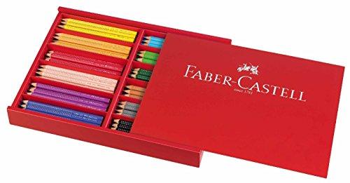 Faber Castell Jumbo Grip 144 piece Set by Faber Castell