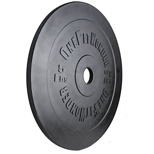 5lb-10lb-Technique-Training-Plates-Pair-by-OneFitWonder-Olympic-Lifting-Weightlifting