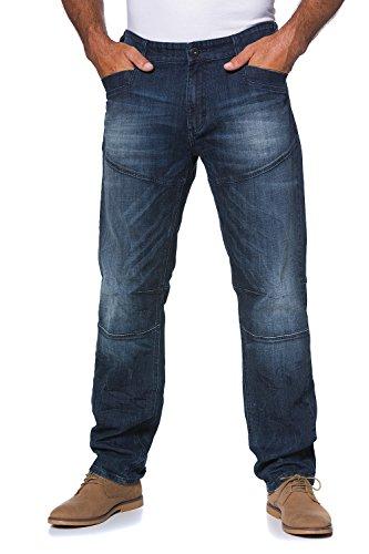 JP 1880 Homme Grandes tailles Jeans coupe droite Délavé bleu foncé 29 702371 93-29