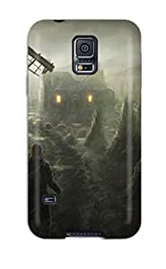 Fashionable OIwoJUQ1139xGuUE Galaxy S5 Case Cover For Pumpkin Patch Protective Case