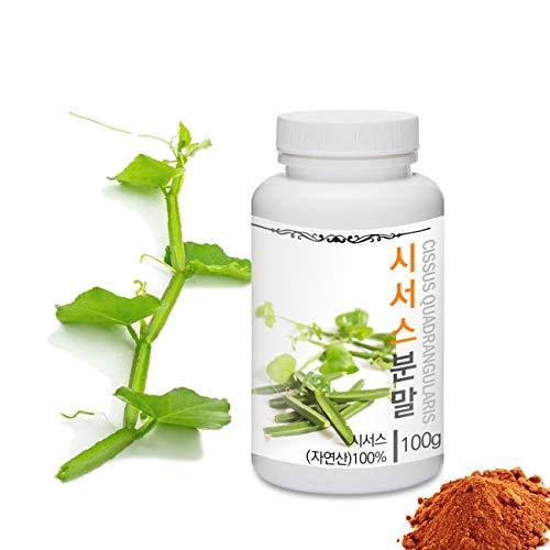 [Medicinal Herbal Powder] Prince Natural Cissus Quadrangularis Powder/프린스 시서스분말, 3.5oz / 100g (Veldt Grape/시서스)