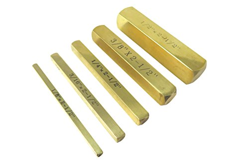 Set Measuring Precision (Taytools 506005 5 Piece Set Solid Brass Set Up Bar Gauge Blocks 1/8