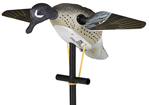 (Lucky Duck Lucky Blue Winged Teal HD Spinning Wing Motion Duck Decoy)