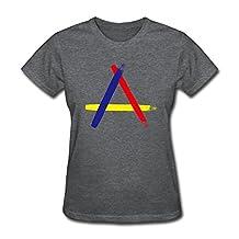 SHHY Women's Focus T Shirt DeepHeather