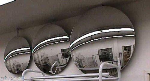 18 Inch Convex Security Mirrors Retail Store Display Fixture Diameter -