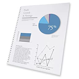 GBC ProClick Presentation Paper, Prepunched, 96 Bright, 24 lb,Letter Size (8.5 x 11),  250 sheets (2514479)