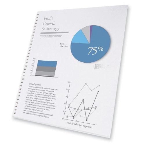 GBC ProClick Presentation Paper, Prepunched, 96 Bright, 24 l