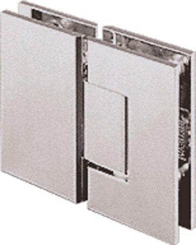 CRL Geneva 180 Series Polished Nickel 180186; Glass-To-Glass Standard ()