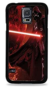 Darth Vader with Lightsaber Darth Vader with Lightsaber Samsung Galaxy S4s Silicone Case - Black Silicone Case - Black- 203