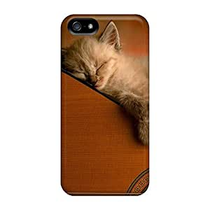 New Arrival Premium 5/5s Case Cover For Iphone (acoustic Kitty) by icecream design