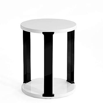 Tables HAIZHEN Pliable d\'appoint en Bois de Style Contemporain Ronde ...