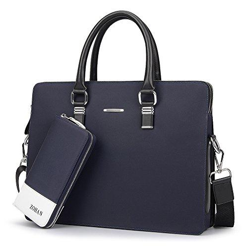 Hombres negocio portátil maletín/Bandolera de un solo hombro de moda-A A