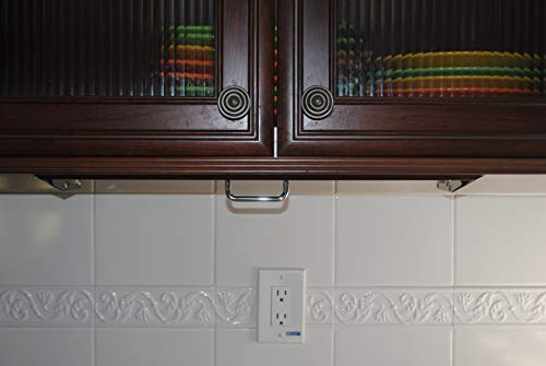 Under Cabinet Steak & Paring Knife Storage Unit (White) by The Drop Block (Image #2)