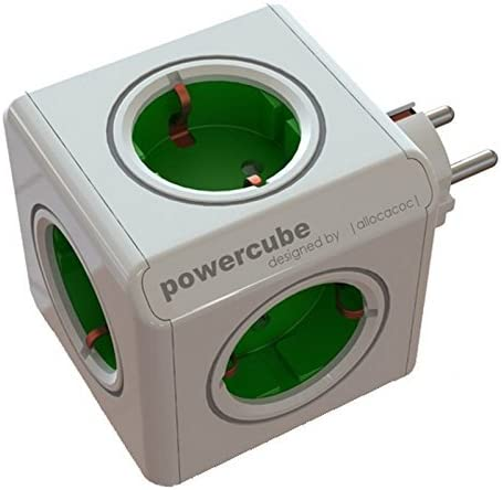Allocacoc 1100GN/DEORPC Power Cube Original, 16 W, Verde: Amazon ...