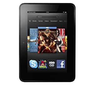 """Certified Refurbished Kindle Fire HD 7"""", Dolby Audio, Dual-Band Wi-Fi, 32 GB - Includes Special Offers [Previous Generation]"""