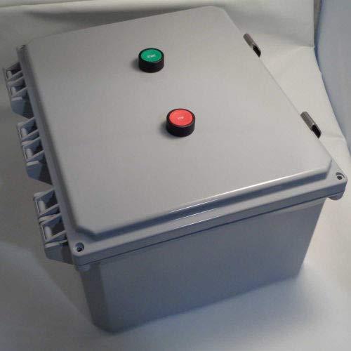 Springer Controls, JC5016P1K-JE, Enclosed AC Motor Starter, Single Phase, 3.0 HP, 115V ()