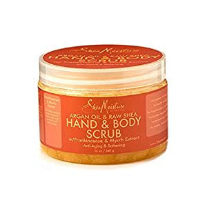 SheaMoisture 12 oz Argan Oil & Raw Shea Butter Hand & Body Scrub