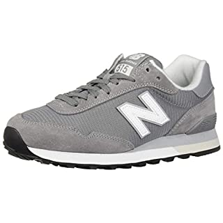 New Balance Men's 515 V1 Sneaker, Steel/White, 12 XW US